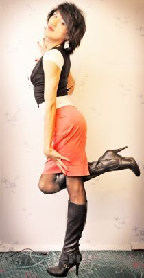 Транссексуал Москвы Лиза (26 лет), метро Молодежная, район Центр